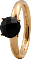 Кольцо CC 800-3.1.B/49 Black Onyx goldpl