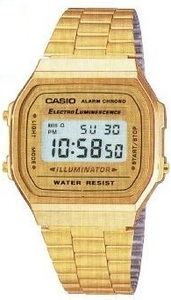 Casio A168WG-9E