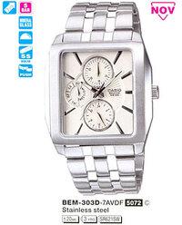 Часы CASIO BEM-303D-7AVEF BEM-303D-7A.jpg — ДЕКА