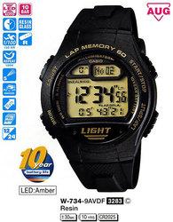 Часы CASIO W-734-9AVEF - Дека