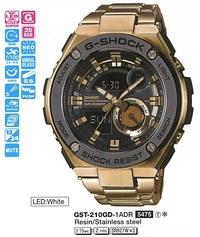 Часы CASIO GST-210GD-1AER - Дека