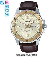 Часы CASIO MTD-100L-9AVDF - Дека