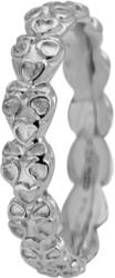Кольцо CC 800-1.12.A/61 Heart Beat silver - Дека