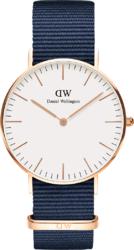 Часы Daniel Wellington DW00100279 Classic 36 Bayswater RG White - ДЕКА
