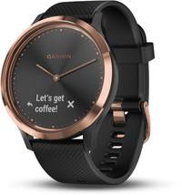 Смарт-часы Garmin Vívomove HR, E EU, Sport Black/Rose Gold - ДЕКА