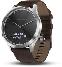 Смарт-часы Garmin Vivomove HR, E EU, Premium, Black-Silver, L - Дека
